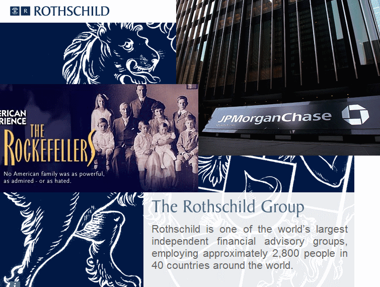 Rockfellers Morgan Rothschild